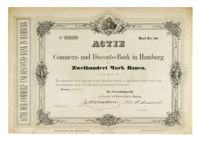 1872 Commerzbank Share