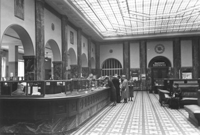 1939 Commerzbank Duesseldorf main hall
